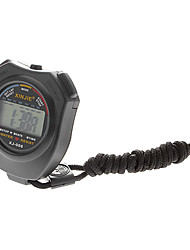 Unisex Multi-Function Plastic LCD Digital Stop Watch with Timer (Black) Cool Watch Unique Watch