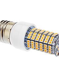 Lâmpada Redonda LED 7W 580-600 LM 3000 K Branco Quente 138 SMD 3528 AC 220-240 V
