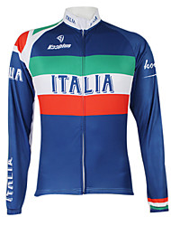 Kooplus2013 Championship Italy Jersey 100% Polyester Wicking Fibers Cycling Shirt with Reflective Tape