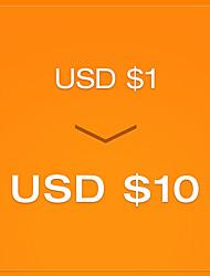 pagar R $ 1 para um cupom de US $ 10 - round1 (válido até 23 de dezembro para ordem de US $ 80)