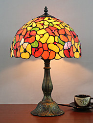 Tiffany Designed Table Light with 1 Light in Blossom Pattern