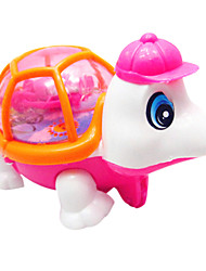 Stem Winding up Running light-up Tortoise Pink&Orange