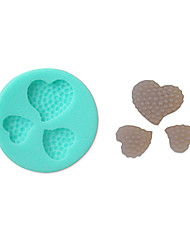 Soft Silicone Cake Decorating Mold Heart Shape