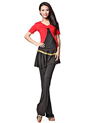 Lovely Dancewear Viscose Latin Dance Outfits For Ladies