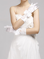 Elbow Length Fingertips Glove Bridal Gloves