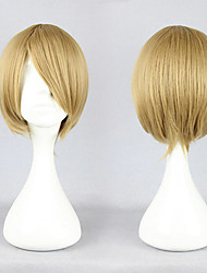 Axis Powers Hetalia Canada Matthew Williams Flaxen Short Cosplay Wig