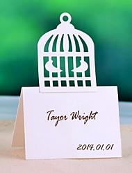 posto le carte e titolari gabbia posto card design - set di 12 (più colori)
