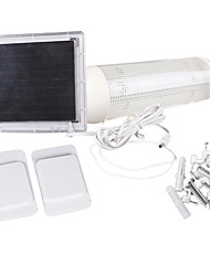 5 lampe led intérieur et d'extérieur à énergie solaire du panneau de jardin de commutation mis en lumière de la cour