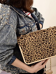 Fashion Leopard catena Crossbody Bag