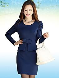 Women's Dresses , Knitwear Casual Long Sleeve LOONGZY