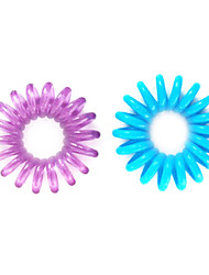 Fashion Mini Telephone Line Shaped Hair Bands(Colors Random)