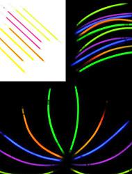 100PCS Noctilucous Glow Stick Mixed Random Color Concert Props
