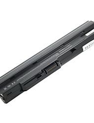 Batterie d'ordinateur portable de remplacement 5200mAh pour MSI Wind U100 6 cellules U90 - noir