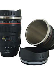 cámara de objetivos EF 24-105mm modelo taza taza de café