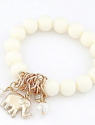 perlas elefante pulsera