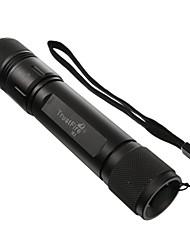 TrustFire X1 3-Mode 9V Xenon Flashlight (500LM, 1x18650, Black)