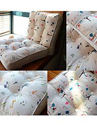 Cartoon Style Animal Design Chair Pad