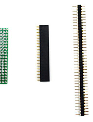 Breadboard Adapter Kit for (For Arduino) (Works with Official (For Arduino) Boards / 3-Piece Pack)