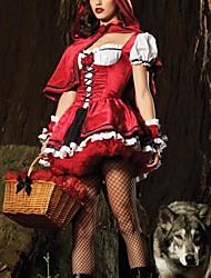 sexy volwassen Roodkapje jurk halloween kostuum (een maat)