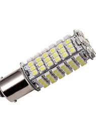 Ba15s 1156 1141 High Power Car Ampoule LED SMD 102-3528 12V DC Super Bright frais Blanc Paquet de 2