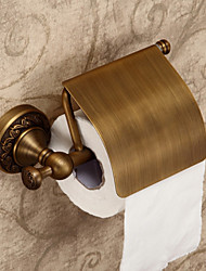 Antique Creative Brass Material Toilet Paper Holder