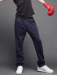 PPZ Männer koreanischen Sports Lange Hose mit Gürtel