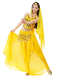 Splendid Performance Chiffon Belly Dance Outfits For Ladies(More Colors)