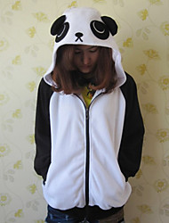 Unisex Polar Black and White Panda Kigurumi Hoddie