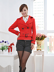 Красный короткий BM принцесса Женский твидовый пиджак