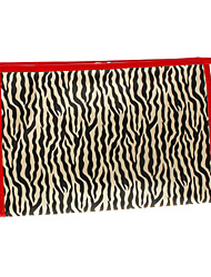 Zebra Patroon make-up tas