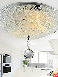 Crystal/LED Flush Mount , Modern/Contemporary Living Room/Bedroom/Dining Room/Kitchen/Bathroom/Kids Room/Entry/Game Room/Hallway/Garage