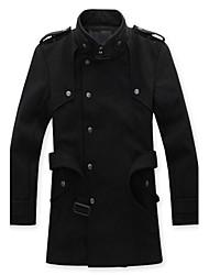 Men's Coats & Jackets , Cotton Casual/Work HAOYIFU