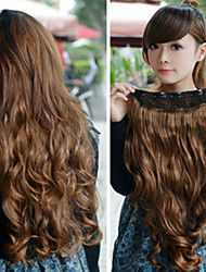 Long Curly Brown Princess Lolita Wig