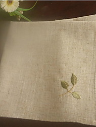 Greece Olive Branch Embroidery Napkins- Set of 6