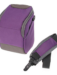 B-01-PL Violet bandoulière One-Shoulder Bag pour Appareil Photo DSLR