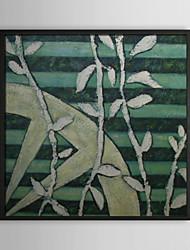 Wriggling Vine Floral Framed Oil Painting