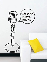 Still Life Microphone Stickers muraux