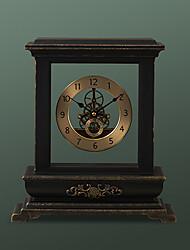 """42.5""""H Retro Metal Tabletop Clock"""