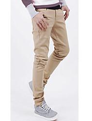 Pantalones de primavera ocasionales de los hombres