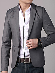 RUILIKE Classic One Button Slim Suit Jacket