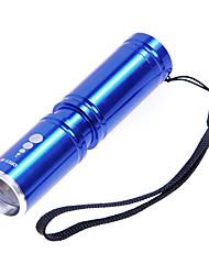LED Taschenlampen / Hand Taschenlampen (einstellbarer Fokus) - LED 3 Modus 210 Lumen 14500 / AA Cree XP-E R2 Batterie -Camping /