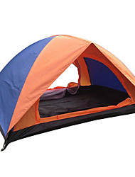Camping Outdoor 200 * 150 * 110CM 2-Person Tent duplo (cor aleatória)