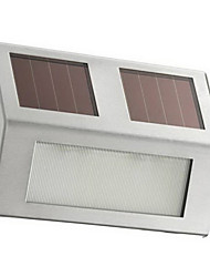 1 pc White Light Outdoor LED Solar Luz Passo alimentado (CIS-57137A)