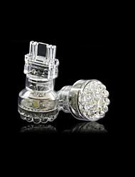 Coppia di 3157 24 LED Super Bright lampadine bianche per Indicatore di direzione