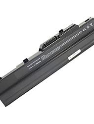 7800mAh remplacement de la batterie d'ordinateur portable pour MSI Wind U100 U90 U90X 9cell - Noir