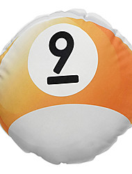 """14 """"Bola de bilhar No.9 Forma novidade almofadas decorativas com Insert"""