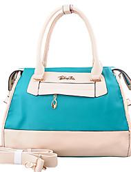 Синий - Сумка на плечо / Сумка-шоппер - Для женщин - Полиуретан - Сумка-шоппер