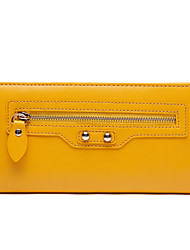 Love Match Women's Mustard Synthetic Leather Haulage Motor Series Wallet