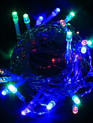 5M 40 LED de vacances de Noël Décoration RGB LED Lumière de corde