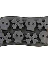 Silicone Gel-Skull 1PC Ice Cube Tray Mold